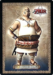 Legend of Zelda Twilight Princess Trading Card #7 Mayor Bo