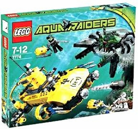 LEGO Aqua Raiders Set #7774 Crab Crusher