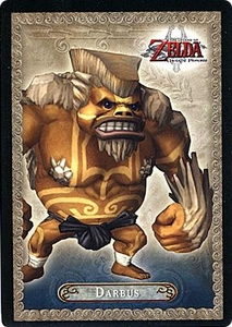 Legend of Zelda Twilight Princess Trading Card #9 Darbus