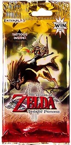 Legend of Zelda Twilight Princess Trading Cards Pack