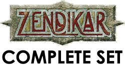 Magic The Gathering World Complete Set Zendikar