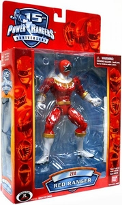 Power Rangers 15th Anniversary Special Edition Action Figure ZEO Red Ranger