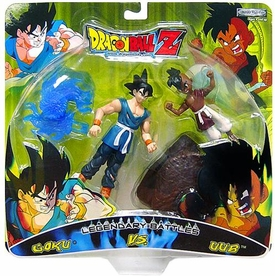 Dragon Ball Z Legendary Battles Action Figure 2 Pack Goku Vs. Uub