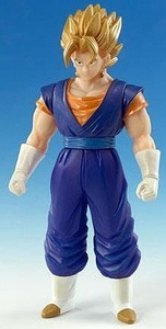 Dragonball Z Bandai 6 Inch Dragon Hero Semi-Poseable Vinyl Figure Super Saiyan Vegito