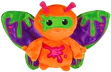 Webkinz Plush Zumbuddy Zami [Orange With Green & Purple Wings]