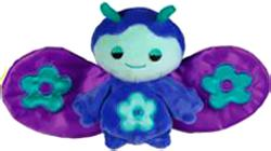 Webkinz Plush Zumbuddy Zane [Violet with Purple Wings]