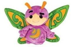 Webkinz Plush Zumbuddy Zaza [Purple with Green Wings]