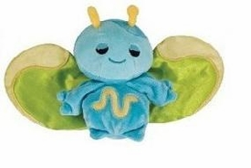 Webkinz Plush Zumbuddy Zeb [Blue with Green Wings]