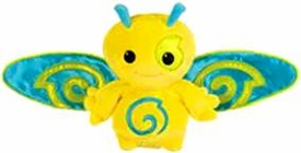 Webkinz Plush Zumbuddy Zip [Yellow With Blue Wings]