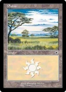 Magic the Gathering Battle Royale Box Set Single Card Land Plains [Random Artwork]