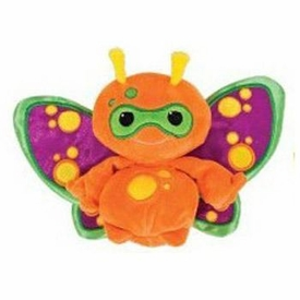 Webkinz Plush Zumbuddy Zorth [Orange with Purple Wings]