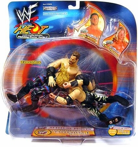 WWE Wrestling Action Figure 2-Pack Heat Backlash Chris Benoit Vs. Chris Jericho [Crossface Crippler]