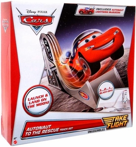 Disney / Pixar CARS Take Flight Playset Autonaut to the Rescue Track Set [Includes Autonaut McQueen]