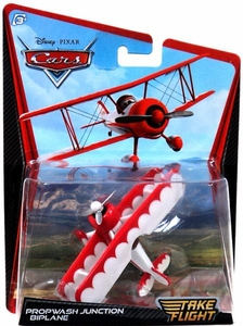 Disney / Pixar Cars Take Flight 1:55 Die Cast Car Propwash Junction Biplane