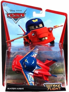 Disney / Pixar Cars Take Flight 1:55 Die Cast Car Mater Hawk