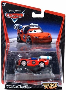Disney / Pixar Cars Take Flight 1:55 Die Cast Car Burnt Autonaut Lightning McQueen