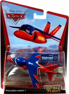 Disney / Pixar Cars Take Flight Exclusive 1:55 Die Cast Car Falcon Hawk 1