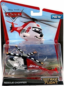 Disney / Pixar Cars Take Flight 1:55 Die Cast Car Rescue Chopper