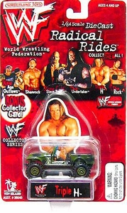WWE Wrestling Die-Cast Car HHH Jeep
