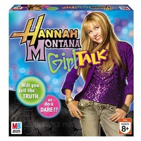 Hannah Montana Board Game Hannah Montana Girl Talk Board Game BLOWOUT SALE!