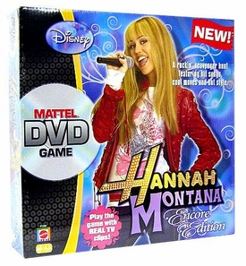 Hannah Montana Official DVD Board Game Encore Edition BLOWOUT SALE!