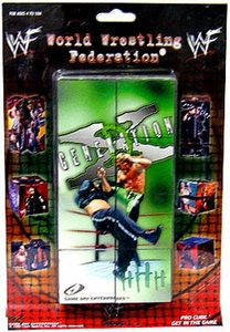 WWE Wrestling Pro Cube DX Generation Damaged Package, Mint Contents!