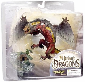 McFarlane Toys Dragons Series 2 Action Figure Fire Clan Dragon 2