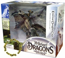 McFarlane Toys Dragons Series 2 Action Figure Deluxe Boxed Set Eternal Clan Dragon