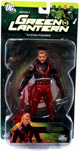DC Direct Green Lantern Series 4 Action Figure Red Lantern Guy Gardner