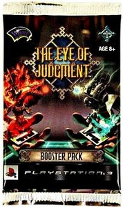 Eye of Judgment Playstation 3 Card Game Biolith Rebellion 1 Booster Pack