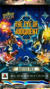 Eye of Judgment Playstation 3 Card Game Biolith Rebellion 3 Booster Pack