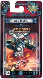 Eye of Judgment Playstation 3 Biolith Rebellion 2 Theme Deck Fire King's Rage