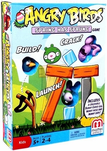 Mattel Angry Birds Board Game Spring Has Sprung