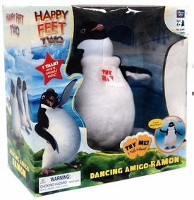 Happy Feet Two Movie Toy Plush Figure Dancing Amigo Ramon