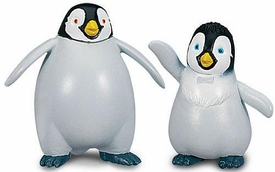 Happy Feet Two Movie Collectible Mini Figurine 2-Pack Erik & Atticus