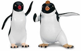 Happy Feet Two Movie Collectible Mini Figurine 2-Pack Ramon & Carmen