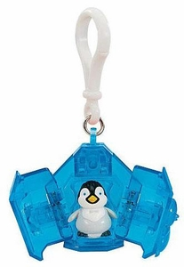 Happy Feet Two Movie Penguin Pet Clip On Figure Erik [Random Color Keychain]