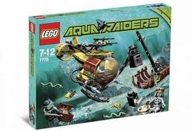 LEGO Aqua Raiders Set #7776 The Shipwreck