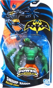 Batman Power Attack Action Figure Swamp Raider Killer Croc