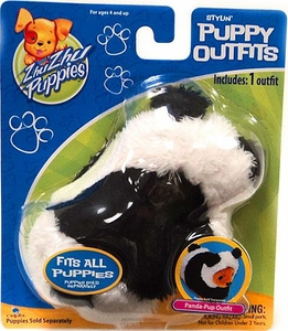 Zhu Zhu Puppies Puppy Outfits Panda-Pup Outfit