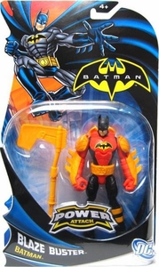 Batman Power Attack Action Figure Blaze Buster Batman