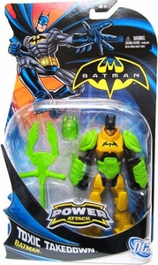 Batman Power Attack Action Figure Toxic Takedown Batman