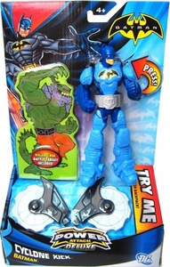 Batman Power Attack Deluxe Action Figure Cyclone Kick Batman