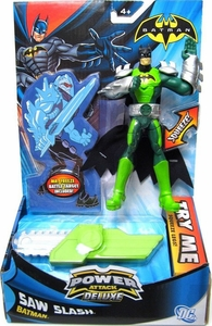 Batman Power Attack Deluxe Action Figure Saw Slash Batman