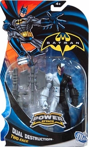 Batman Power Attack Action Figure Dual Destruction Two-Face