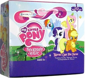 My Little Pony Friendship is Magic Enterplay Trading Card Series 1 Fun Pack Box [30 Packs]