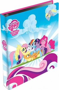 My Little Pony Friendship is Magic Enterplay Trading Card SERIES 1 Binder with Exclusive 6 Card Foil Puzzle Set! BLOWOUT SALE!