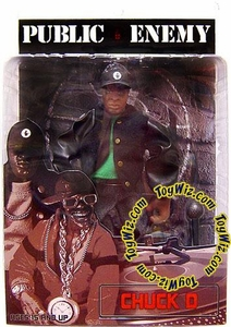 Mezco Toyz Rap Stars Action Figure Public Enemy's Chuck D.