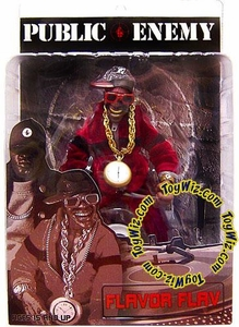 Mezco Toyz Rap Stars Action Figure Public Enemy's Flava Flav