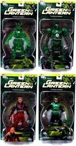 DC Direct Green Lantern Series 4 Set of 4 Action Figures [Hal Jordan, Guy Gardner, Stel & Arkkis Chummuk]